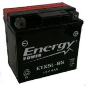 Batteria Moto 4 Ah Codice ETX5L-BS