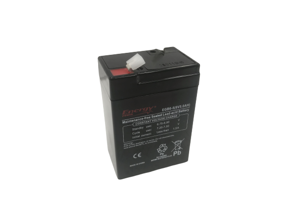 Batteria 6 Volts 5 Ah AGM General Purpose