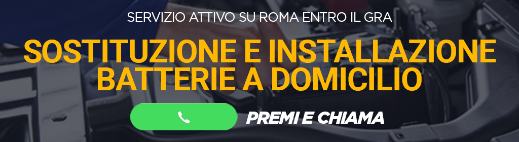 Batterie Auto a Domicilio Roma