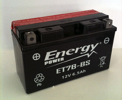 Batteria Moto 6 Ah Codice ET7B-BS