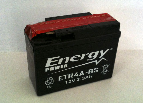Batteria Moto 2,3 Ah Codice ETR4A-BS