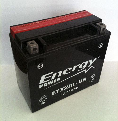 Batteria Moto 12 Ah Codice ET14B-BS