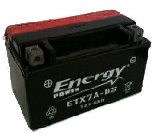 Batteria Moto 6 Ah Codice ETX7A-BS